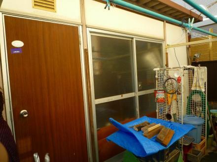 6畳ユニットハウス解体【やねきハウスのリフォーム】(リフォーム前)