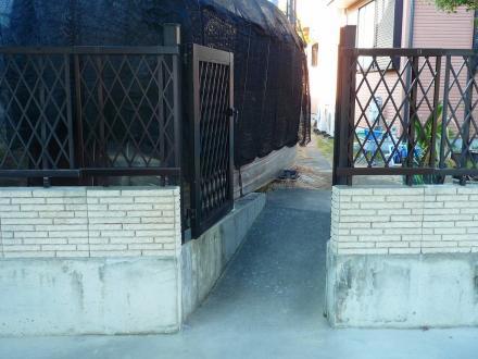 地震対策ブロック塀【やねきハウスのリフォーム】(リフォーム後)