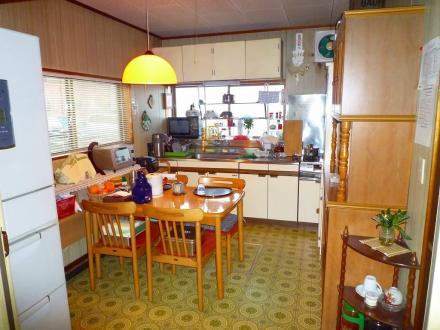 キッチンリフォーム クリナップ ラクエラ【やねきハウスのリフォーム】(リフォーム前)