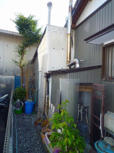 小屋改修に伴う減築【やねきハウスのリフォーム】(リフォーム前)