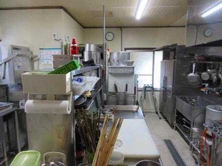 旧蕎麦屋から、イタリアンレストランへ改修(厨房)【やねきハウスのリフォーム】(リフォーム後)
