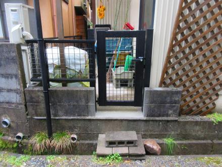 門扉設置(快適動線)【やねきハウスのリフォーム】(リフォーム後)