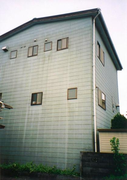 暖かい雰囲気に外壁リフォーム【やねきハウスのリフォーム】(リフォーム前)