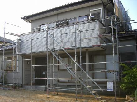 外壁塗装及び外壁材取替 ニチハ サイディング【やねきハウスのリフォーム】(リフォーム前)