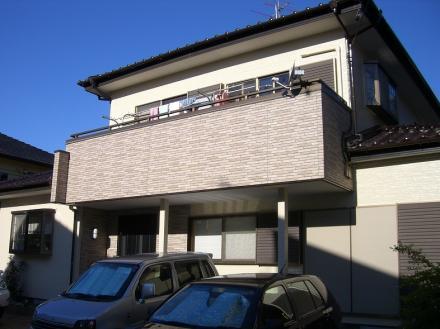 外壁塗装及び外壁材取替 ニチハ サイディング【やねきハウスのリフォーム】(リフォーム後)
