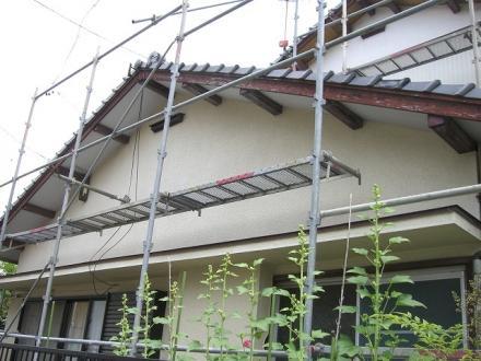 外壁塗装 弾性シリコン塗装【やねきハウスのリフォーム】(リフォーム前)
