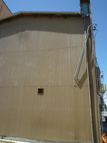 外壁トタン張替替え工事【やねきハウスのリフォーム】(リフォーム前)