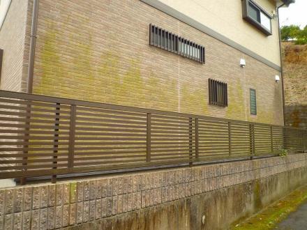 外壁が緑色に【やねきハウスのリフォーム】(リフォーム前)