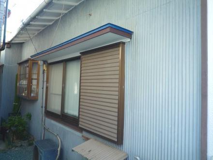 平屋の外壁塗装【やねきハウスのリフォーム】(リフォーム前)