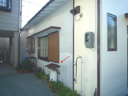 平屋の外壁塗装【やねきハウスのリフォーム】(リフォーム後)
