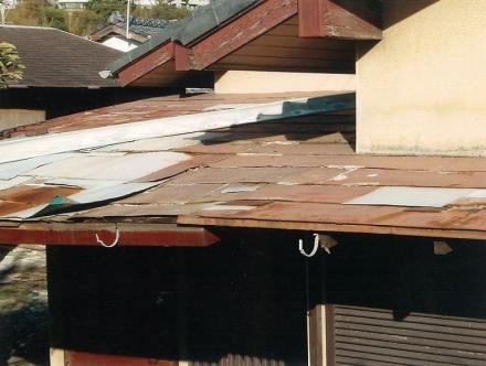 軒天雨漏り改修【やねきハウスのリフォーム】(リフォーム前)