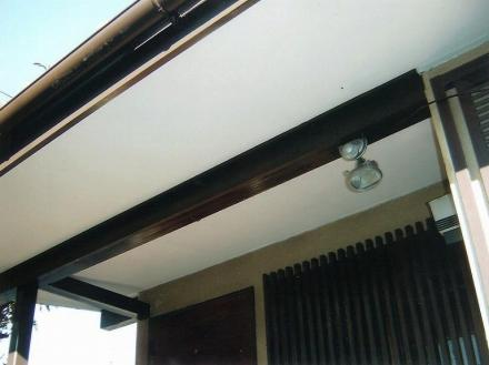 軒天雨漏り改修【やねきハウスのリフォーム】(リフォーム後)