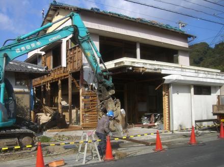 家屋半分の解体【やねきハウスのリフォーム】(リフォーム前)