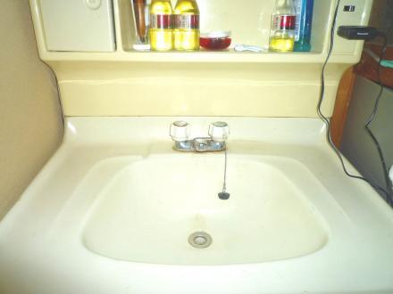洗面シンプルリフォーム【やねきハウスのリフォーム】(リフォーム前)
