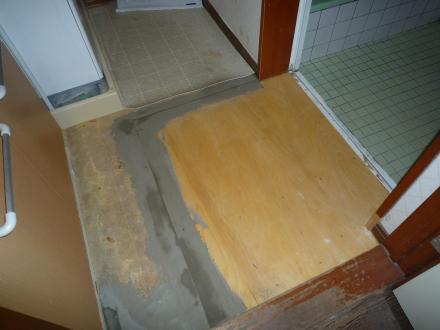 シロアリ防虫駆除及び床改修【やねきハウスのリフォーム】(リフォーム後)