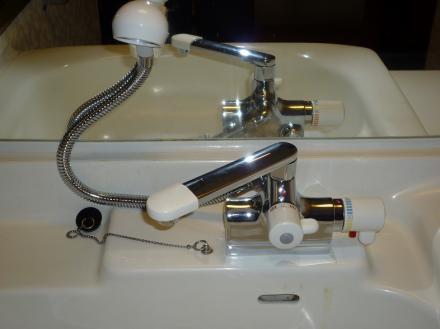 水栓金具の交換 TOTO TMJ30UC3【やねきハウスのリフォーム】(リフォーム後)