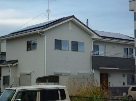 太陽光発電システム シャープ (4.0KW)【やねきハウスのリフォーム】(リフォーム後)