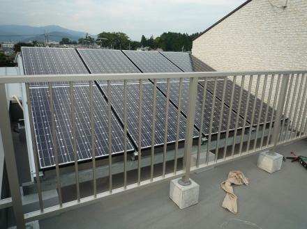 太陽光発電システム 三洋電機 (3.36KW)【やねきハウスのリフォーム】(リフォーム後)