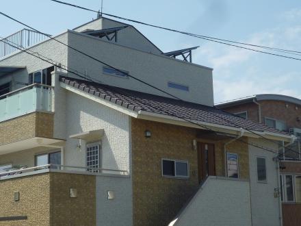 太陽光発電システム増設工事 SHARP (3.42kw)【やねきハウスのリフォーム】(リフォーム前)