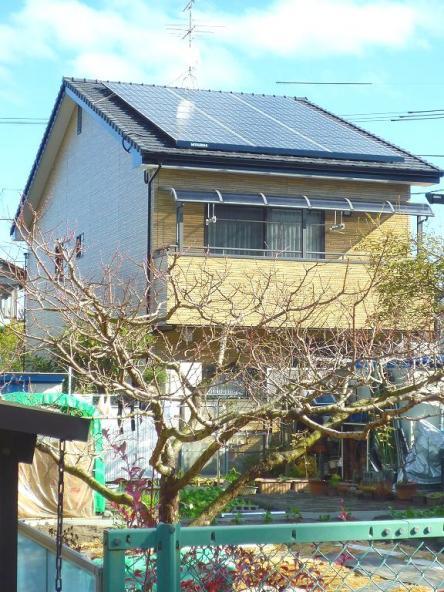 太陽光発電システム設置 三菱ソーラー発電4.96kw【やねきハウスのリフォーム】(リフォーム後)