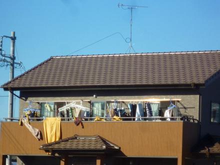 働く屋根 太陽光発電乗せましたダイキン(京セラ製)3.96kw【やねきハウスのリフォーム】(リフォーム前)