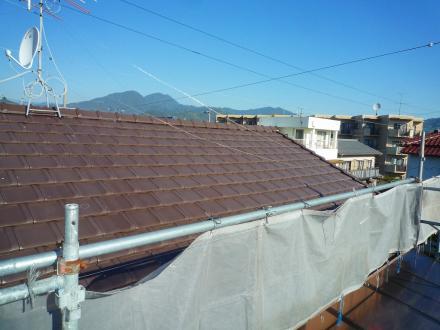 太陽光発電システム設置 パナソニック4.14kw【やねきハウスのリフォーム】(リフォーム前)