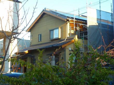 太陽光発電システム設置 三菱4.14kw【やねきハウスのリフォーム】(リフォーム後)