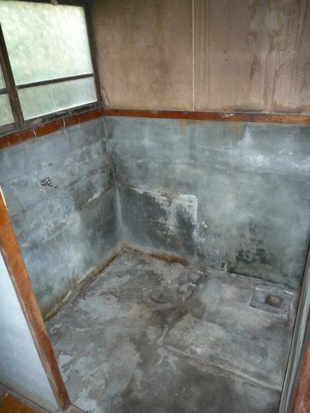 モルタル浴室からシステムバス タカラ ミーナ【やねきハウスのリフォーム】(リフォーム前)
