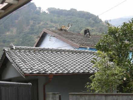 屋根瓦葺き替え【やねきハウスのリフォーム】(リフォーム前)
