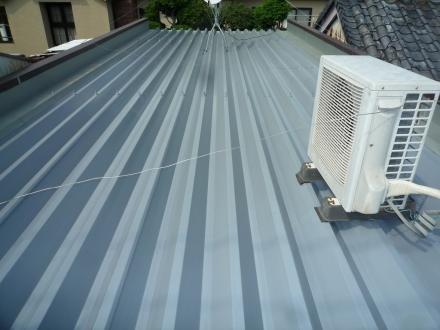 折半屋根塗装工事【やねきハウスのリフォーム】(リフォーム後)
